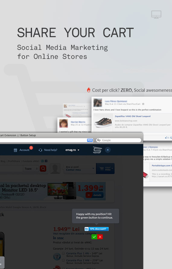 ShareYourCart – Social media marketing for Online Stores